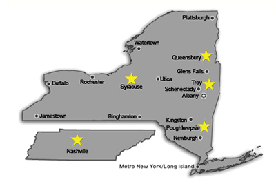 Chazen locations in New York and Nashville