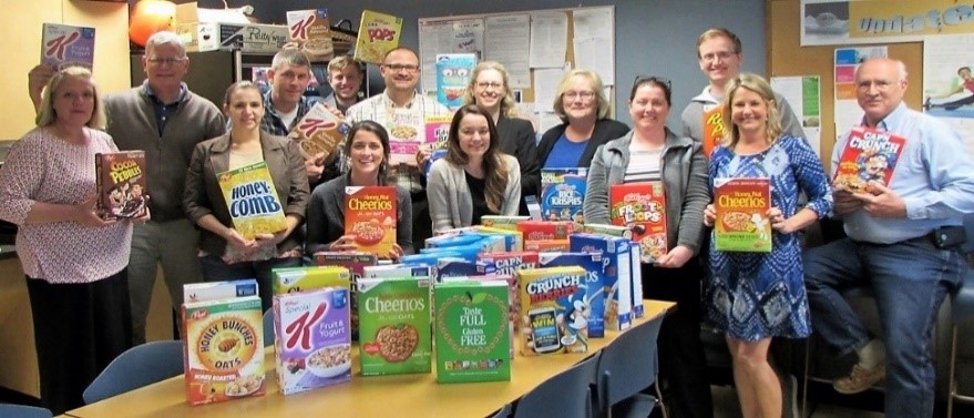 Cereal Donation - Chazen Cares