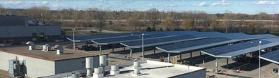 General Electric Solar Parking Lot