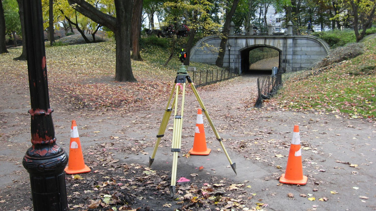 Central Park Conservancy Land Surveying