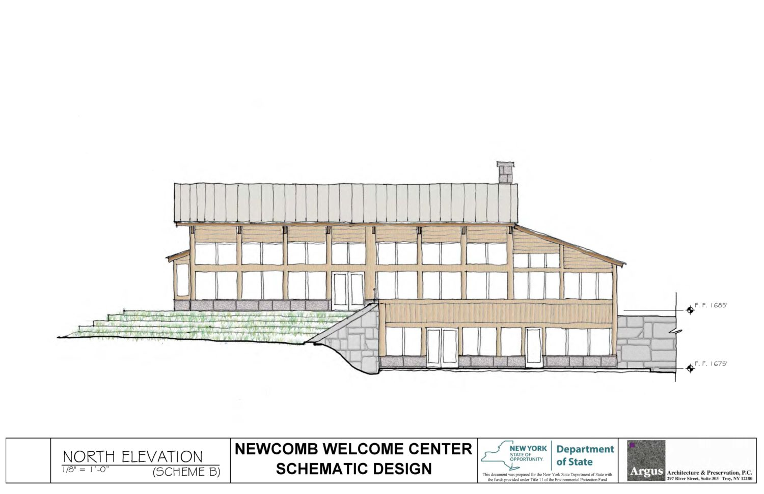 Newcomb Welcome Center
