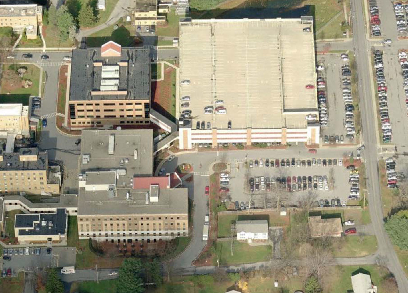 St. Francis Hospital - parking structure