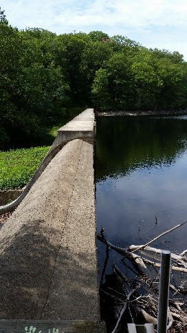 Upper and Lower Wiccopee Dam